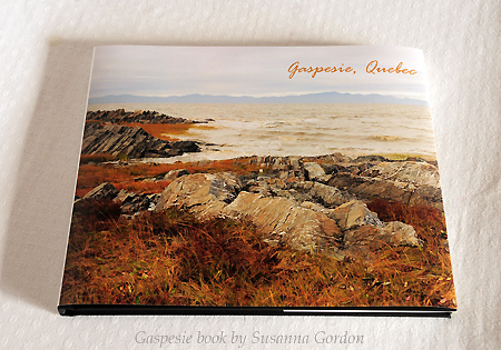 Susanna Gordon, Gaspesie book cover, low res
