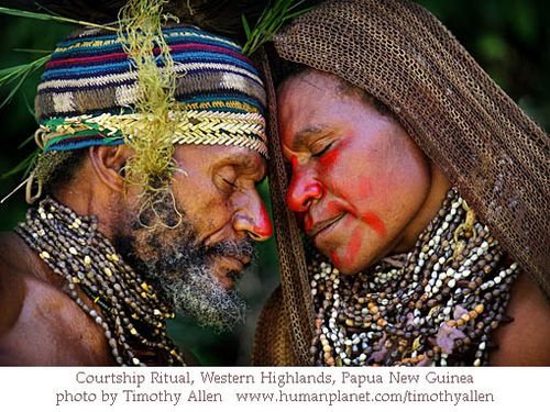 Timothy Allen Courtship Ritual, Western Highlands, Papua New Guinea