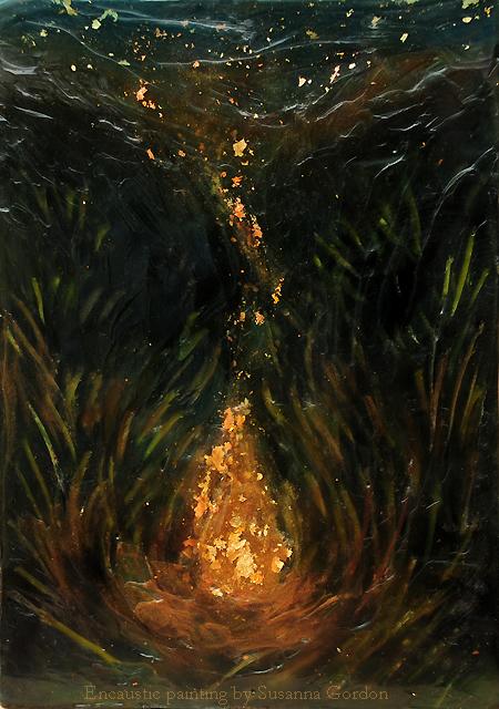 CampfireCampfire Painting